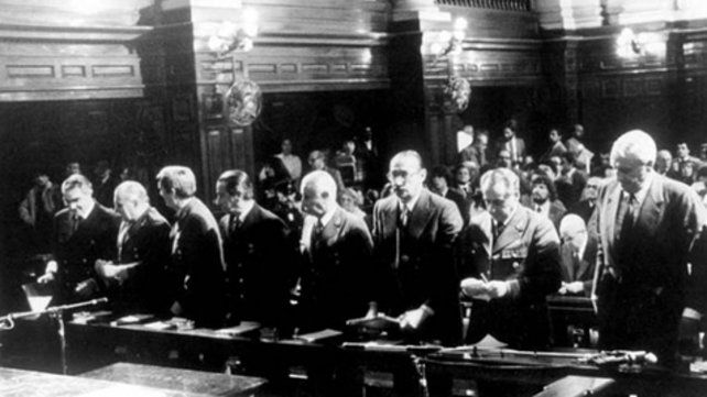 El histórico juicio a las juntas militares de la dictadura.