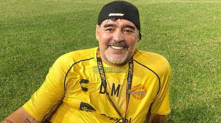 Diego Maradona recordó con emoción su paso por Newells
