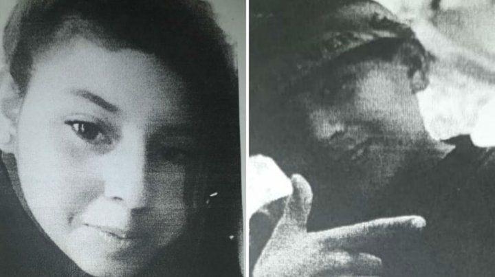 Las imágenes de Milagros y Alan fueron difundidas cuando se activó la búsqueda.