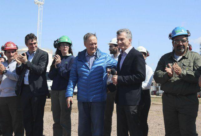 Mandatarios. Macri y el gobernador Schiaretti