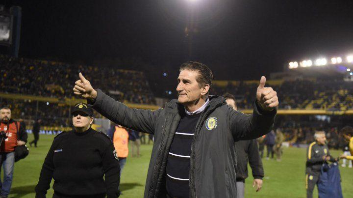 Bauza goza de un presente perfecto ya que Central es protagonista en la Superliga y sigue en la Copa Argentina.