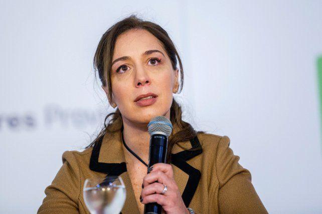 La gobernadora María Eugenia Vidal quiere que Macri se quede otro período.