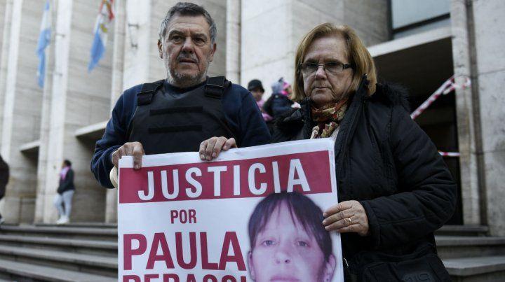 Años de lucha. Los padres de Paula