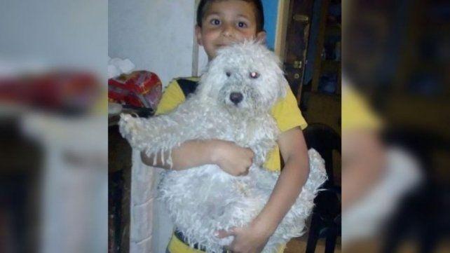 Licho tenía 6 años. El día anterior a su muerte estaba feliz por adoptar a un perrito. (Foto: gentileza Diario de Cuyo)