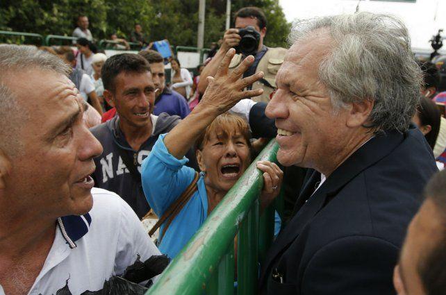 Frontera Almagro saluda a refugiados venezolanos en Cúcuta