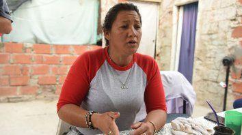 Sin calma. Graciela es la mamá de Nicolás, asesinado el domingo pasado.
