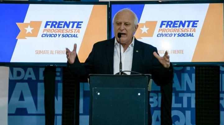 Lifschitz llamó a ampliar el Frente y a trabajar para que Santa Fe no vuelva al pasado