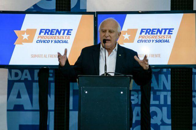 Lifschitz diferenció la gestión del Frente Progresista de la administración económica de Cambiemos y de la corrupción en el peronismo.