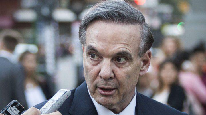 Senador nacional Miguel Pichetto.