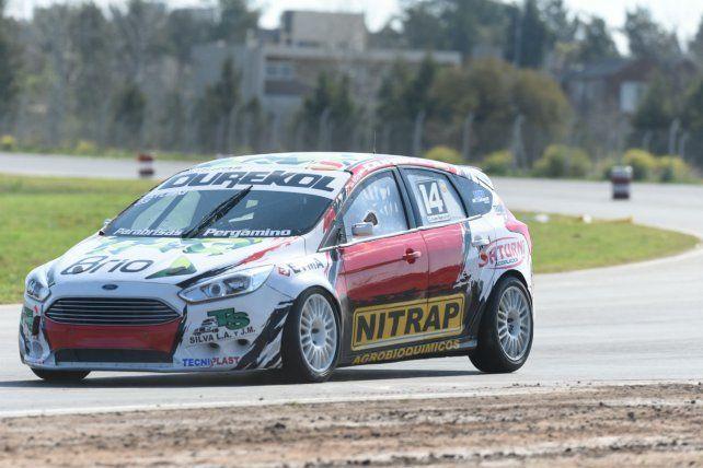 El Terribe. Iván Saturni (Bigand) fue 9º en la clasificación con el Ford Focus de su propia estructura.