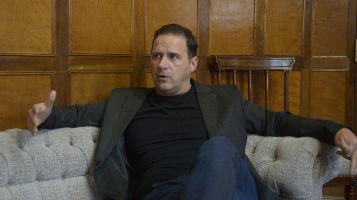 Hernan Marty marcó su desacuerdo con la dirigencia actual porque malgastó el dinero que ingresó.