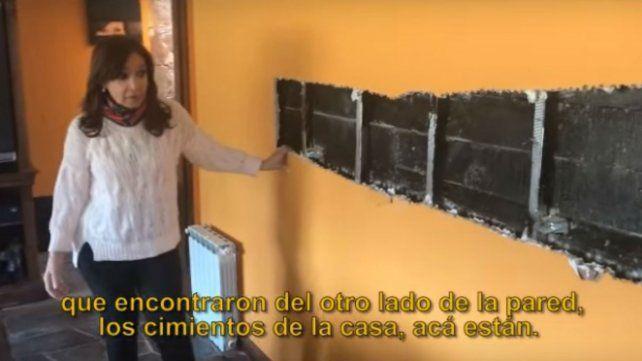 Cristina denunció destrozos en el allanamiento en su casa de El Calafate
