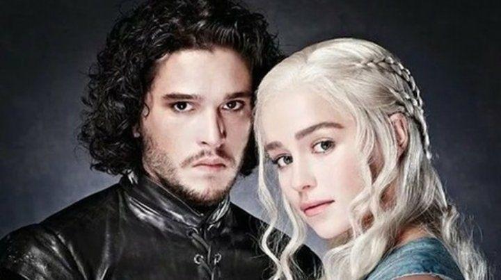 Protagonistas.Game of Thrones es la serie más nominada de hoy.