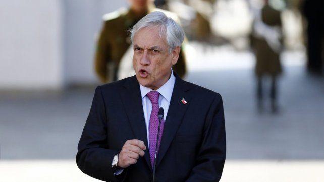 Chile no dejará ingresar a dirigentes del régimen