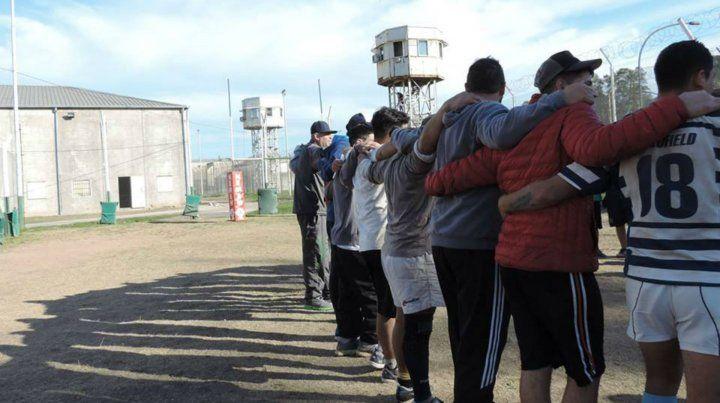 Gladiadores en los penales de Rosario