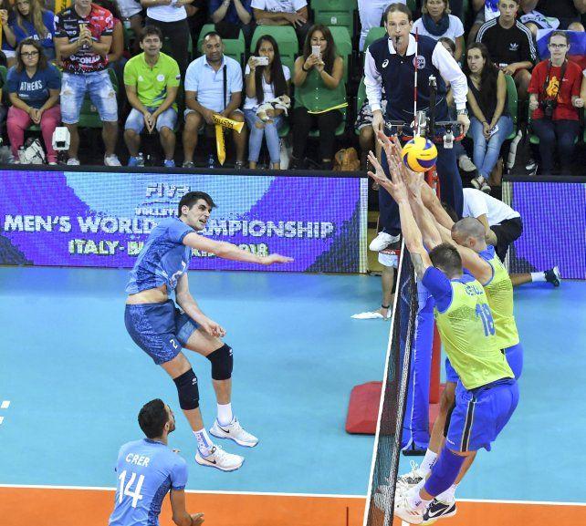 Argentina ganó y sueña con avanzar de fase en el Mundial de voleibol