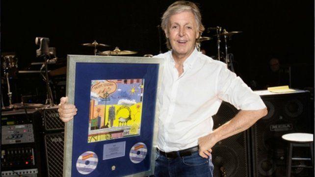 Paul McCartney llegó al primer puesto