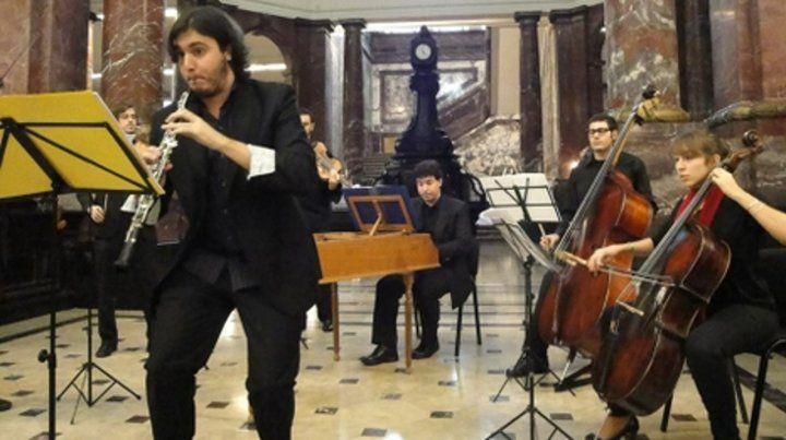 Música barroca en el foyer de El Círculo