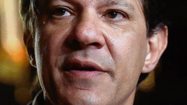 Haddad suplantó a Lula al frente del PT.