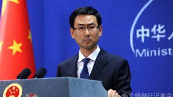 El portavoz del Ministerio de Comercio chino, Geng Shuang, subrayó que su país se defenderá con determinación.
