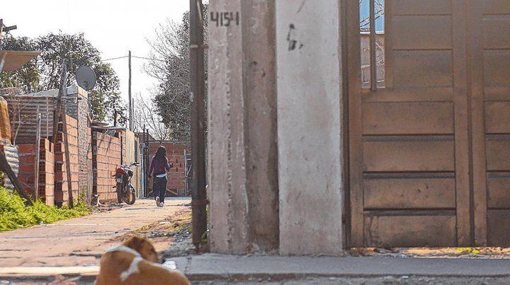 Rodríguez 4100. Lugar donde mataron a Marcelo Alvarez hace 10 días.