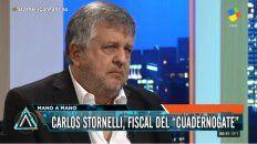 stornelli al senado: frente a orden escrita, tiene que desaforar