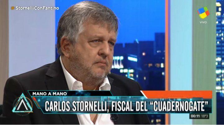 Stornelli dijo al Senado que frente a la orden escrita, tiene que desaforar