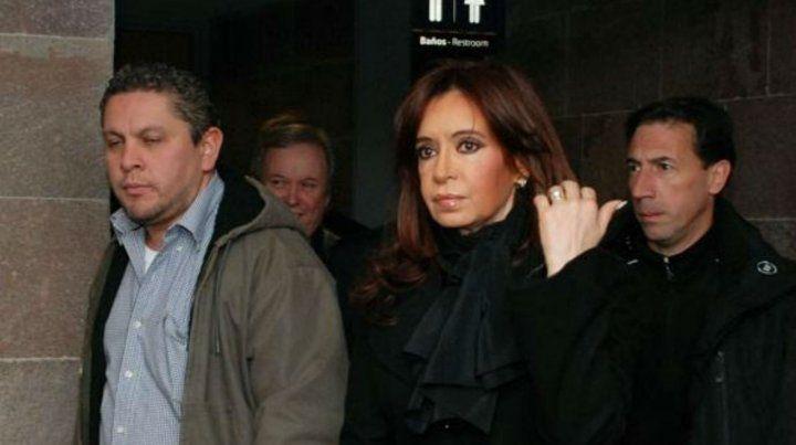 Gutiérrez (izquierda) fue el secretario privado de la expresidenta.