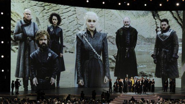 7 Reinos. Game of Thrones amplió su reinado en la fiesta de los Emmy.