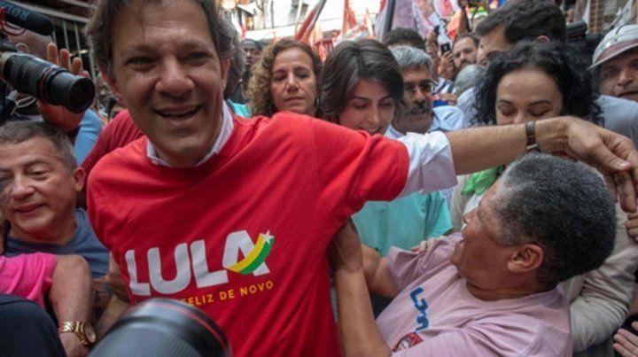 Desmentido. Haddad rechazó la posibilidad de que Lula
