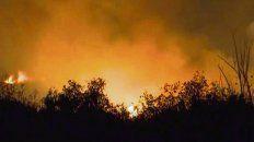 Fuego. Las quemas son incesantes y en pleno humedal.