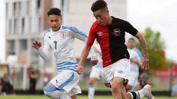 Amistoso de la lepra con el Sub 15 de Uruguay