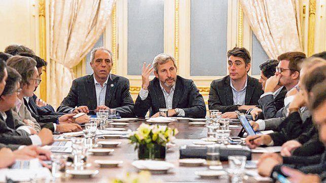 discusiones. La eliminación del fondo sojero tensó la relación entre la Nación y las provincias.