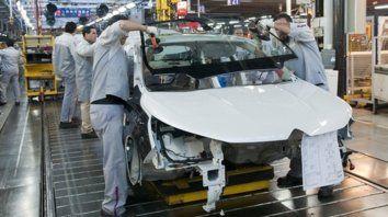 Caída. La industria manufacturera tuvo un retroceso de 1,8% en el segundo trimestre del año, según el Indec.