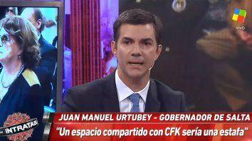 Urubey: Un espacio compartido con Cristina sería estafa