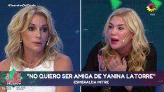Esmeralda Mitre a Yanina Latorre: Sos una bestia humana