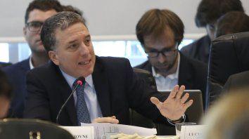 El ministro de Hacienda,Nicolás Dujovne, presentó el Presupuesto 2019 en Diputados.