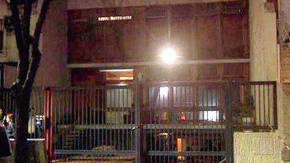 apuntados. La casa robada, situada frente a la Agencia Federal de Inteligencia.