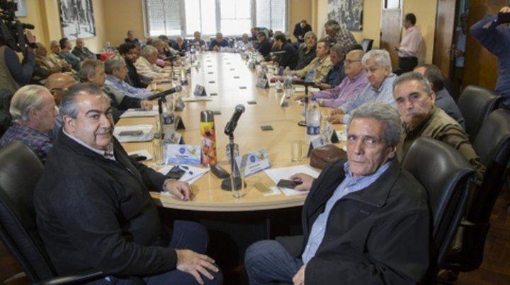 reunión. La CGT quiere que el gobierno escuche a los trabajadores.