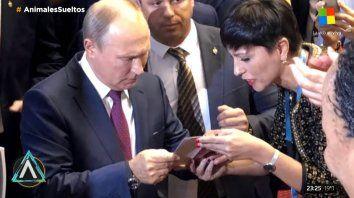 Mayra Mendoza pidió ayuda a Putin para Cristina no vaya presa