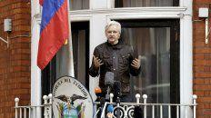 Refugio. Assange lleva 6 años sin dejar la embajada de Ecuador en Londres.