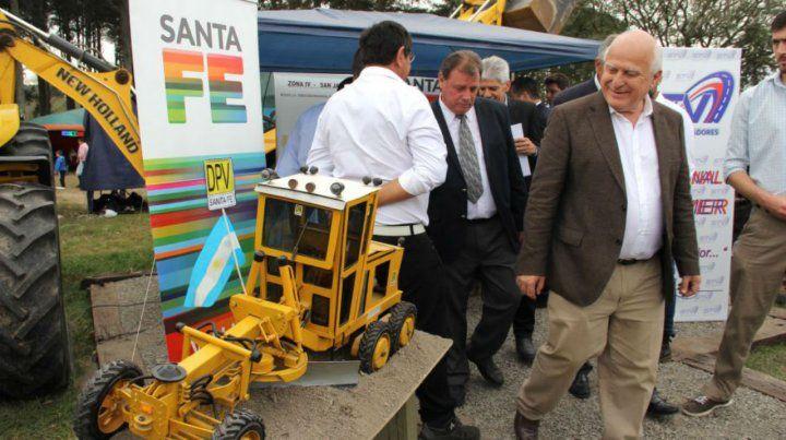 El gobernador viajará por estos días a Santa Cruz de la Sierra