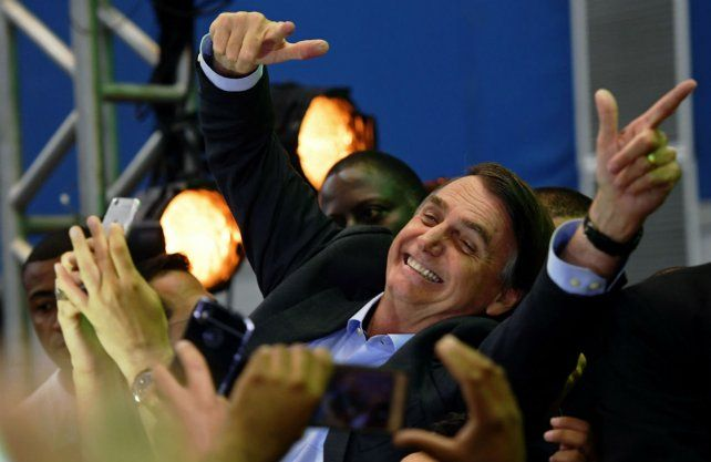 El ex militar Jair Bolsonaro