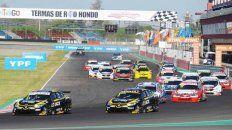 El Flaco hizo valer su posición de partida durante las 9 vueltas de ayer en Termas de Río Hondo. Pernía y Canapino lo siguen en el lanzamiento y así terminarían.
