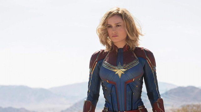 La primera. Brie Larson protagoniza Capitana Marvel.