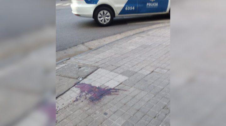 Huellas. La agresión se desató en San Martín y Montevideo.