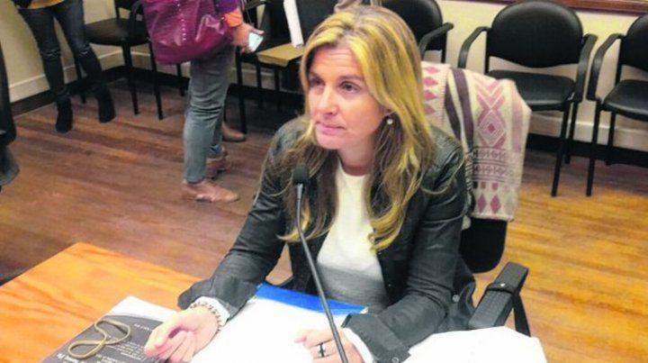 La fiscal. Ana Laura Gioria