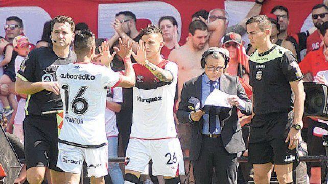 Fértoli ingresó por Figueroa y demostró que está para titular