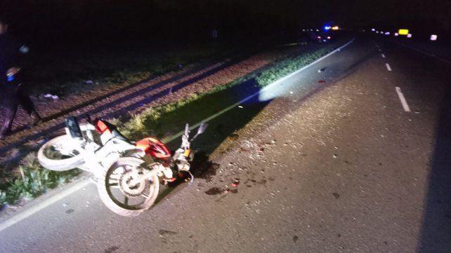 Cuando la autopista a Santa Fe estaba cortada por el accidente fatal entre dos autos