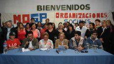 Lanzan movimiento de organizaciones sociales para resistir el modelo